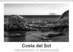Costa del Sol Impressionen in schwarzweiß (Wandkalender 2019 DIN A3 quer) von Knappmann,  Britta