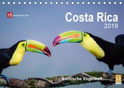 Costa Rica 2019 Exotische Vogelwelt (Tischkalender 2019 DIN A5 quer) von Bergwitz,  Uwe