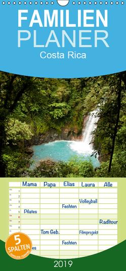 Costa Rica – Familienplaner hoch (Wandkalender 2019 <strong>21 cm x 45 cm</strong> hoch) von Schickert,  Peter