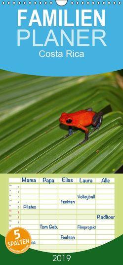 Costa Rica – Familienplaner hoch (Wandkalender 2019 , 21 cm x 45 cm, hoch) von Di Chito,  Ursula