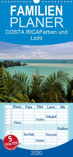 COSTA RICA Farben und Licht – Familienplaner hoch (Wandkalender 2020 , 21 cm x 45 cm, hoch) von Gerber,  Thomas