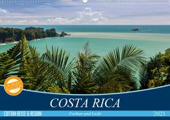 COSTA RICA Farben und Licht (Wandkalender 2021 DIN A2 quer) von Gerber,  Thomas