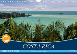 COSTA RICA Farben und Licht (Wandkalender 2021 DIN A4 quer) von Gerber,  Thomas