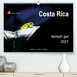 Costa Rica tierisch gut 2021 (Premium, hochwertiger DIN A2 Wandkalender 2021, Kunstdruck in Hochglanz) von Bergwitz,  Uwe