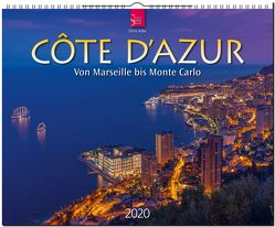 Côte d'Azur • Von Marseille bis Monte Carlo von Seba,  Chris