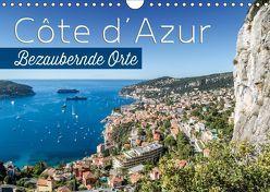 CÔTE D'AZUR Bezaubernde Orte (Wandkalender 2019 DIN A4 quer) von Viola,  Melanie