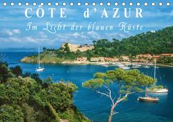 Cote d'Azur – Im Licht der blauen Küste (Tischkalender 2021 DIN A5 quer) von Mueringer,  Christian