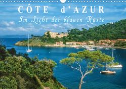 Cote d'Azur – Im Licht der blauen Küste (Wandkalender 2021 DIN A3 quer) von Mueringer,  Christian