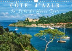 Cote d'Azur – Im Licht der blauen Küste (Wandkalender 2021 DIN A4 quer) von Mueringer,  Christian