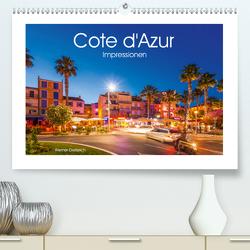 COTE D'AZUR Impressionen (Premium, hochwertiger DIN A2 Wandkalender 2021, Kunstdruck in Hochglanz) von Dieterich,  Werner