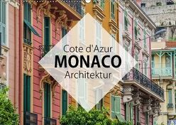 Côte d'Azur Monaco Architektur (Wandkalender 2018 DIN A2 quer) von Korte,  Niko