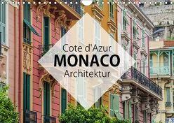 Côte d'Azur Monaco Architektur (Wandkalender 2018 DIN A4 quer) von Korte,  Niko
