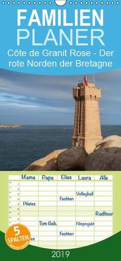 Côte de Granit Rose – Der rote Norden der Bretagne – Familienplaner hoch (Wandkalender 2019 , 21 cm x 45 cm, hoch) von Benoît,  Etienne