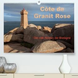 Côte de Granit Rose – Der rote Norden der Bretagne (Premium, hochwertiger DIN A2 Wandkalender 2020, Kunstdruck in Hochglanz) von Benoît,  Etienne