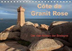 Côte de Granit Rose – Der rote Norden der Bretagne (Tischkalender 2019 DIN A5 quer) von Benoît,  Etienne