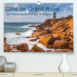 Côte de Granit Rose – Ein Küstenbereich in der Bretagne (Premium, hochwertiger DIN A2 Wandkalender 2020, Kunstdruck in Hochglanz) von Hoffmann,  Klaus