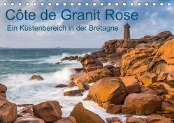 Côte de Granit Rose – Ein Küstenbereich in der Bretagne (Tischkalender 2018 DIN A5 quer) von Hoffmann,  Klaus