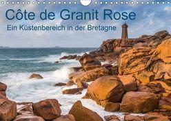 Côte de Granit Rose – Ein Küstenbereich in der Bretagne (Wandkalender 2018 DIN A4 quer) von Hoffmann,  Klaus