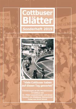 Cottbuser Blätter Sonderheft 2019 von Dr.Lewandrowski