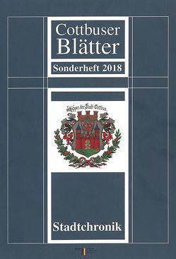 Cottbusser Blätter Stadtchronik von Krestin,  Steffen