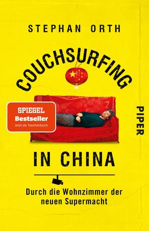 Couchsurfing in China von Orth,  Stephan