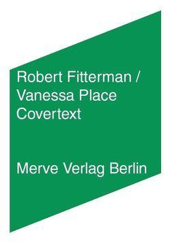 Covertext von Fitterman,  Robert, Greaney,  Patrick, Lichtenstein,  Swantje, Place,  Vanessa