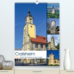 Crailsheim – Stadt der Türme an der Jagst (Premium, hochwertiger DIN A2 Wandkalender 2021, Kunstdruck in Hochglanz) von Sigwarth,  Karin