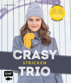 CraSyTrio stricken – Das perfekte Nadelspiel für Socken, Stirnbänder und mehr von Kirchner,  Sandra