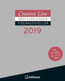 creative line querformat 2019 von bastelkalender teneues. Black Bedroom Furniture Sets. Home Design Ideas