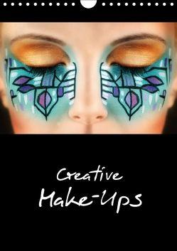 Creative Make-Ups 2018 (Wandkalender 2018 DIN A4 hoch) von :: Fotodesign / www.hetizia.at,  HETIZIA