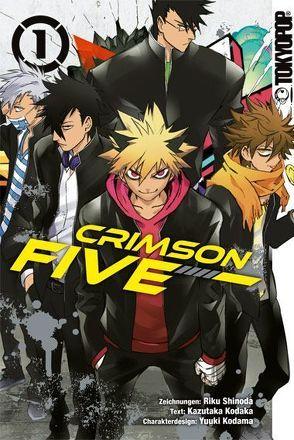 Crimson Five 01 von Kodaka,  Kazutaka, Kodama,  Yuuki, Shinoda,  Riku