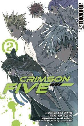 Crimson Five 02 von Kodaka,  Kazutaka, Kodama,  Yuuki, Shinoda,  Riku