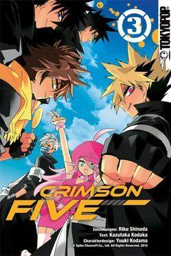 Crimson Five 03 von Kodaka,  Kazutaka, Kodama,  Yuuki, Shinoda,  Riku