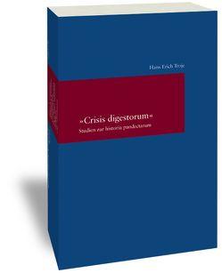 """""""Crisis digestorum"""" von Troje,  Hans Erich"""