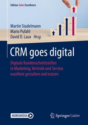 CRM goes digital von Laux,  David, Pufahl,  Mario, Stadelmann,  Martin