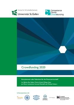 Crowdfunding 2020 von Blohm,  Ivo, Gebert,  Michael, Haas,  Philipp, Leimeister,  Jan Marco, Schulz,  Moritz, Sieber,  Eva, Wenzlaff,  Karsten