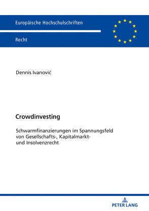 Crowdinvesting von Ivanovic,  Dennis