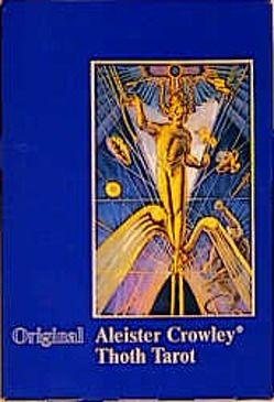 Original Aleister Crowley Thoth Tarot. De Luxe Ausgabe von Crowley,  Aleister, Harris,  Lady Frieda