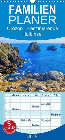 Crozon – Faszinierende Halbinsel im Westen der Bretagne – Familienplaner hoch (Wandkalender 2019 , 21 cm x 45 cm, hoch) von LianeM