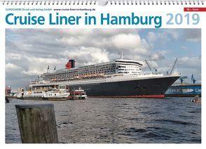 Cruise Liner in Hamburg 2019 (Wandkalender) von Wassmann,  Werner