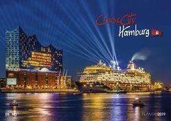 CruiseCity Hamburg – Kalender 2019 von Eiland