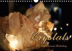 Crystals – Kristallmuseum Riedenburg (Wandkalender 2018 DIN A4 quer) von Portenhauser,  Ralph