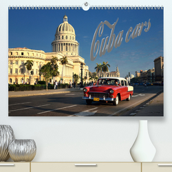 Cuba Cars (CH-Version) (Premium, hochwertiger DIN A2 Wandkalender 2020, Kunstdruck in Hochglanz) von Krajnik,  André