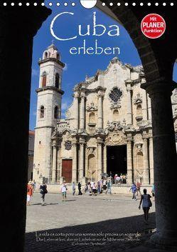 Cuba erleben (Wandkalender 2019 DIN A4 hoch) von Thiel,  Elmar