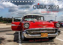 Cuba – Lebendiges Museum (Tischkalender 2019 DIN A5 quer) von Ricardo González Photography,  Daniel