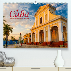 Cuba – Unter der Sonne der Karibik (Premium, hochwertiger DIN A2 Wandkalender 2021, Kunstdruck in Hochglanz) von Benninghofen,  Jens