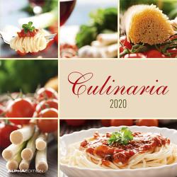 Culinaria 2020 – Broschürenkalender (30 x 60 geöffnet) – Wandkalender – Küchenplaner – Küchenkalender – Wandplaner von ALPHA EDITION