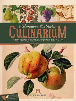 Culinarium 2018 – Wochenplaner