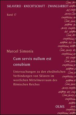 Cum servis nullum est conubium von Simonis,  Marcel