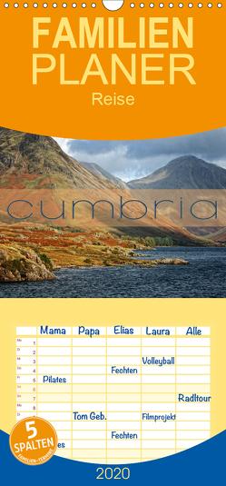 Cumbria – Familienplaner hoch (Wandkalender 2020 , 21 cm x 45 cm, hoch) von Cross,  Martina